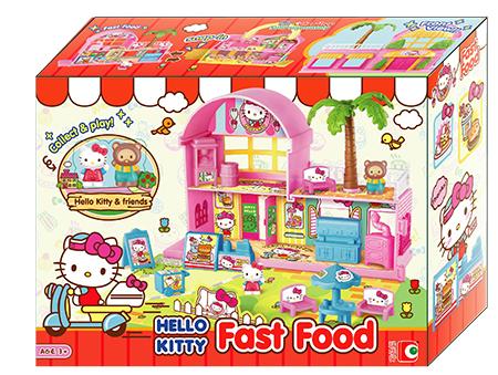 Hello Kitty 快餐店