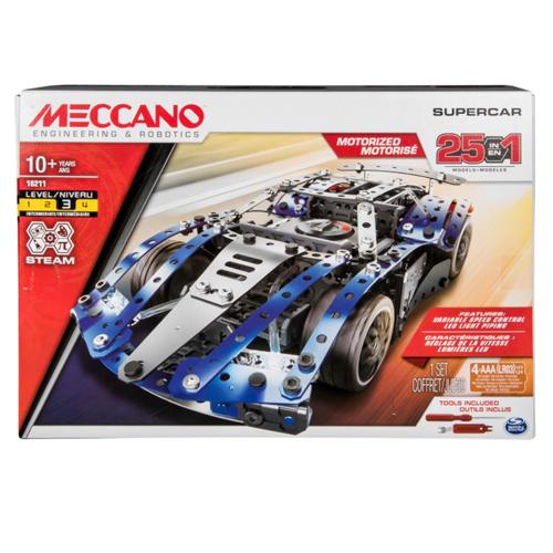 麥爾卡羅-25合1電動超級跑車