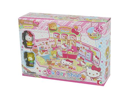 Hello Kitty汉堡包店