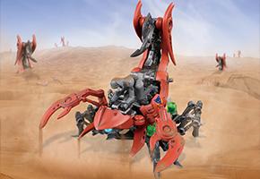 索斯兽机械兽-红蝎兽