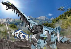 索斯兽机械恐龙-腕龙兽